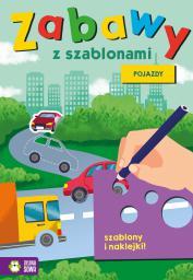 Zielona Sowa Zabawy z szablonami. Pojazdy - 242757