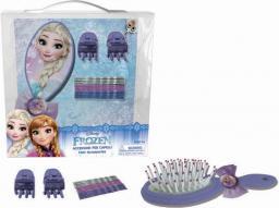 Coriex Frozen zestaw akcesoriów do włosów ze szczotką