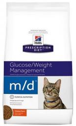 Hills  Prescription Diet m/d Feline 1.5kg