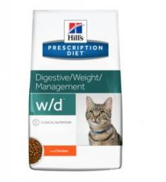 Hills  Prescription Diet w/d Feline 1.5kg