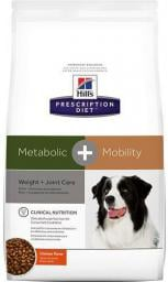 Hills  Prescription Diet Metabolic+Mobility Canine z Kurczakiem 4kg