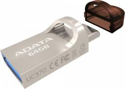 Pendrive ADATA UC370 64GB (AUC370-64G-RGD)