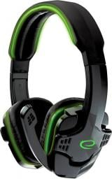 Słuchawki Esperanza Raven, zielone (EGH310G)