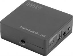 Digitus Switch Toslink 2x1 z pilotem (DS-40135)