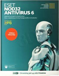 ESET NOD32 Antyvirus 1 stanowisko 2 lata BOX (ENA-N-2Y-1D)