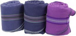 Vizari Ręcznik z mikrofibry ultra szybkoschnący fioletowy 42x55cm
