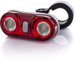 MacTronic Lampa rowerowa tylna zestaw (baterie, 7 lm) WALL'E II ( L-BPM-8SL)