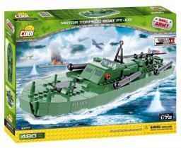 Cobi Small Army Motor Torpedo Boat 480kl (COBI-2377)