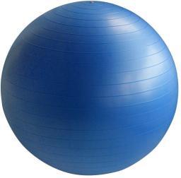 Victoria Sport Piłka fitness niebieska 75 cm