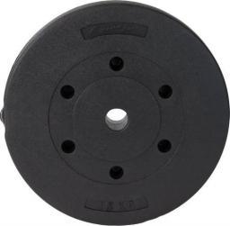 EB FIT obciążenie betonowe 15 kg EB fi28 kolor czarny