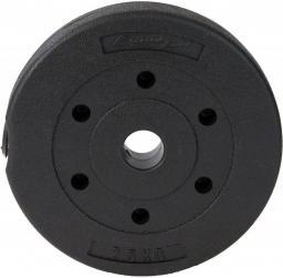 EB FIT obciążenie betonowe 2,5 kg fi30 kolor czarny