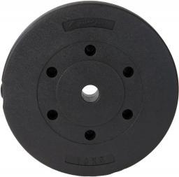 EB FIT obciążenie betonowe 2,5 kg fi 28 kolor czarny