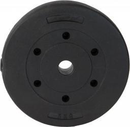EB FIT obciążenie betonowe 5 kg FI 28 kolor czarny