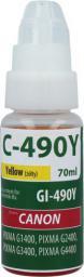 TelForceOne Tusz C-490Y (GI-490Y), 70ml (T_0015109)