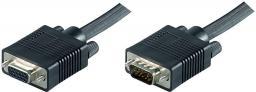 Kabel MicroConnect D-Sub (VGA) - D-Sub (VGA), 2, Czarny (MONGH2B)