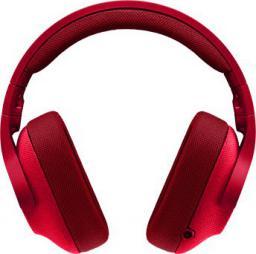 Słuchawki Logitech G433 Fire Red (981-000652)