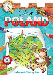 Aksjomat Colour Poland. Sticker and Colouring Book (241411)
