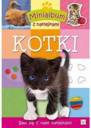 Aksjomat Minialbum z naklejkami - Kotki (51096)