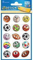 Zdesign Naklejki papierowe - piłki  (233614)