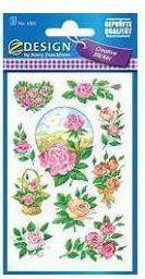 Zdesign Naklejki z kwiatami - Róża 2 (106427)