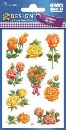 Zdesign Naklejki z kwiatami - Róże (188591)