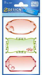 Zdesign Naklejki papierowe na przetwory (242083)