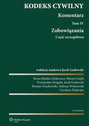 Wolters Kluwer Kodeks cywilny Komentarz T. 4-5 Zobowiązania... - 242532