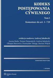 Wolters Kluwer Kodeks postępowania cywilnego. Komentarz T.1-2 w.7 - 234053