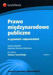 Wolters Kluwer Prawo międzynarodowe publiczne w pytaniach...w.2 - 220061