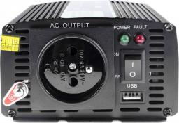 Przetwornica Green Cell samochodowa 12V do 230V, 500W/1000W (INV03)