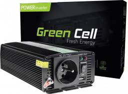 Przetwornica Green Cell 24V do 230V, 500W/1000W (INV04)