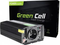 Przetwornica Green Cell 12V do 230V, 300W/600W Pełna Sinusoida (INV05)