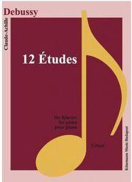 Debussy. 12 Etudes fur Klavier (197777)