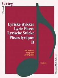 Grieg. Lyrische Stucke II fur Klavier (197878)
