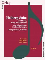 Grieg. Holberg Suite and Moods, Song Arrangements (197782)