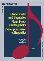 Beethoven. Klavierstucke und Bagatellen (197794)