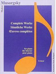 Musorgsky. Samtliche Werke fur Klavier (197830)