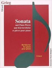 Grieg. Sonata und Klavierstucke fur Klavier