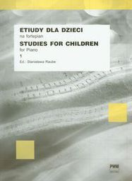 Etiudy dla dzieci na fortepian 1 PWM (109345)