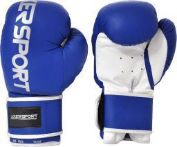 Axer Rękawice bokserskie niebiesko-białe r. 10 oz (A1330 10)