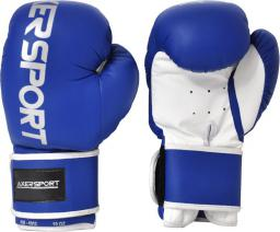 Axer Rękawice bokserskie niebieskie r. 12 oz (A1331 12)