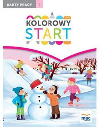Kolorowy start. 5 i 6 latki KP cz.2 w.2017 (244128)