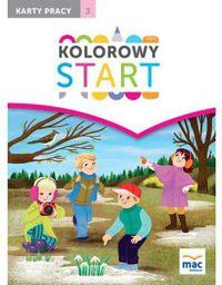Kolorowy start. 5 i 6 latki KP cz.3 w.2017 (244129)
