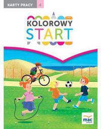 Kolorowy start. 5 i 6 latki KP cz.4 w.2017 (244130)