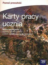 Historia. Poznać przeszłość. Wojna i wojskowość. Karty Pracy (zakres rozszerzony)