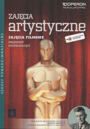 Technika Zajęcia artystyczne filmowe. Podręcznik