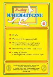 Miniatury matematyczne 04 Grafy, parzystość...