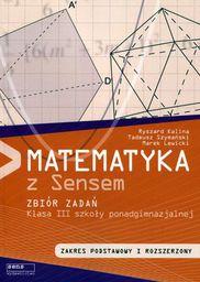Matematyka 3. Zbiór zadań (zakres podstawowy i rozszerzony)