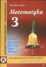 Matematyka 3 podręcznik