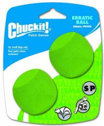 Chuckit! Erratic Ball Small 2pak